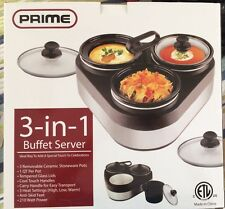 NEW KITCHEN EXPRESS 3 IN 1 PARTY BUFFET SERVER BRAND NEW IN BOX