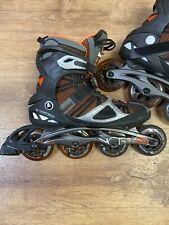New listing K2 VO2 100 X Pro M 100 X 90 Inline Skates Rollerblades Men's 13 - Black/Orange