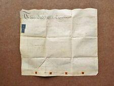 1784 Crawley Ifield Worth Sussex 18th century Vellum Deed Document Indenture