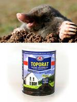 Rauchpatronen  Maulwurf Gift 150 Gramm frischer Köder töten Maulwürfe