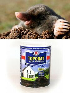 Maulwurf Gift 150 Gramm frischer Köder töten Maulwürfe