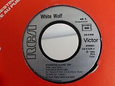white wolf Standing alone / metal thunder DB 61536
