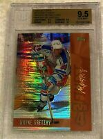 WAYNE GRETZKY 1998 TOPPS MYSTERY FINEST BRONZE REFRACTOR #M4 BGS 9.5 9.5 9.5 10