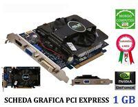 SCHEDA GRAFICA PCI EXPRESS  NVIDIA GeFORCE 1 GB ASUS EN GT 240 DDR3 VGA DVI HDMI