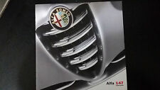 Depliant Brochure Alfa Romeo ALFA 147  cinque porte - 2001 -   pagine 32 Edicola