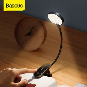 Baseus Dimmable LED Desk Lamp Clip-on Dimmable Table Reading Light Office Study
