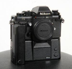 NIKON F3 Professional Body + MD-4 Motor Drive...all speeds and meter working!