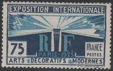 "FRANCE STAMP YVERT 215 SCOTT # 225 "" LIGHT AND LIBERTY 75c ART PARIS "" MH VF"