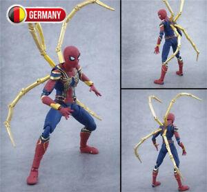 Spiderman Action Figur Joint Aktivitä Modell Marvel Figuren Homecoming Spielzeug