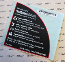 Original IBM Lenovo Thinkpad Top Cover Triangle Sticker
