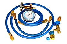 Manifold Gauge Set for R12, R22a, and R134a Enviro-Safe  #500