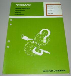 Werkstatthandbuch Elektrik Volvo Elektrische Schaltpläne 760 Buch Ausgabe 1988!