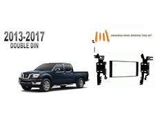 NEW fits 2013-2017 NISSAN FRONTIER Double DIN Dash Kit, with Tool Set