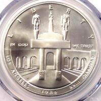 1984-D Olympics Dollar $1 - PCGS MS70 - Rare Perfect Top Pop MS70. $2,850 Value!