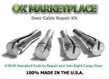 92 a 12 Ford E150, E250, E350 Repare los cables de ambas Puertas Derechas #4A