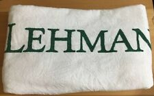 Genuine LEHMAN BROTHERS Big Beach Towel  Good Condition