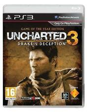 UNCHARTED 3: DRAKE'S inganno -- Game of the Year Edition (Sony PlayStation 3,