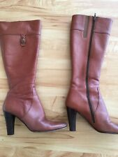 Tan Knee High Boots For Skinny Legs Size 7.5