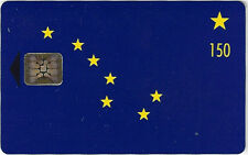 TK Telefonkarte/Phonecard Alaska 150u Alaska State Flag (Chip Card) Aufl. 2500