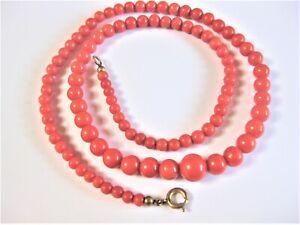 Coral Necklace, 0.7oz