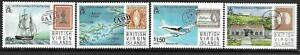 1987   BRITISH VIRGIN ISLANDS  -  SG.  662 / 665  -  POST   -  MNH