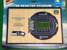 M219/495 NFL Seattle Seahawks Stadiumviews 3D Desktop Stadium NWT