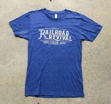Railroad Revival Tour 2011 Mumford & Sons Old Crow Medicine Show T Shirt Medium