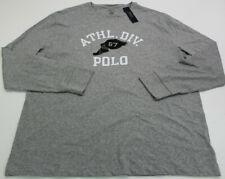 Polo Ralph Lauren T Shirt Mens XL Track & Field Long Sleeve