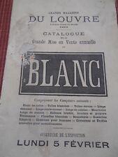 CATALOGUE DU LOUVRE ANNEE 1877  (ref 20 )