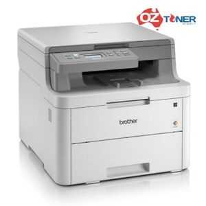 Brother DCP-L3510CDW Copy/Scan/Print A4 WiFi Color Laser MFC Printer+Duplex18PPM