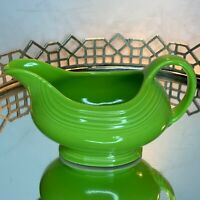 Fiesta Gravy Sauce Boat Chartreuse 18 1/2 ounce Retired Vintage HLC NOS #N1