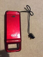 Red waffle maker by American originals