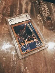 1992 Fleer Shaquille O'Neal Rookie #401 BCCG 9 Near Mint 🔥🔥