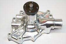 Ford 5.0L Reverse Rotation High Performance Aluminum Water Pump Polished 8845