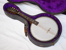 ORPHEUM No1 8-string Mandolin Banjo w/ CASE - VINTAGE - OLD