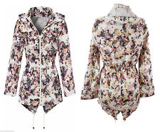 Brave Soul Polyester Floral Coats & Jackets for Women