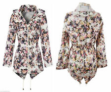 Women's Casual Floral Trench Coats, Macs Coats & Jackets