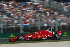 Sebastian Vettel Hand Signed Scuderia Ferrari F1 12x8 Photo 2018.