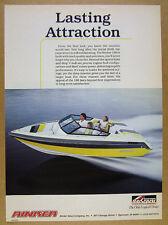 1989 Rinker 186 Boat color photo vintage print Ad
