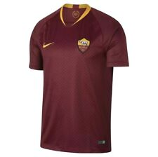 Nike as Roma 2018/19 Stadium Home Authentic Long Sleeve Jersey Men's Medium