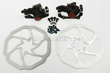 AVID MTB BB5 Bike Mechanical Disc Brake Front and Rear with 160mm HS1 Rotors