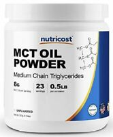 MCT OIL POWDER Ketosis Supplement for Ketone Energy Keto Diet Healthy Unflavored