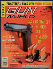 Magazine GUN WORLD May 1989 !!SMITH & WESSON Models 36-LS and 60-LS REVOLVERS!!