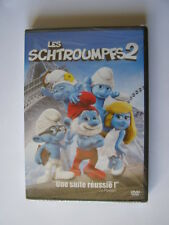dvd zone 2 les schtroumpfs 2 neuf