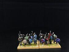 15mm Ancient DBA DPS painted Saxon Warriors  GH704