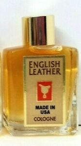 English Leather by Dana EAU DE COLOGNE Men Splash Fragrance Classic 0.5 oz unbox