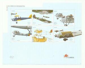 Portugal 1999 - 75 Years Aeronatical Gun, War Airplanes S/S MNH