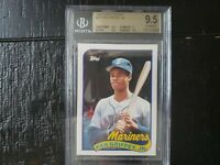 1989 Topps Traded Ken Griffey Jr. ROOKIE RC #41T BGS 9.5 GEM MINT