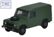 NDEF003 Oxford Scale N Gauge Land Rover Defender 110 Hard Top British Army