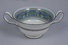 WEDGWOOD FLORENTINE TURQUOISE W2714 Cream Soup Cup (Bowl)